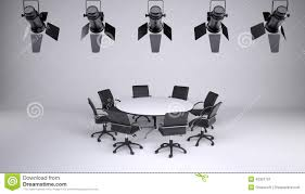 Round Table And Eight Office Chairs Stock Illustration ... Building A Home Recording Studio Chair Say And Sound Spacious Furnished Radio Table Office Chairs Sofa Vion Mesh Transitional Series Supra X Rolling Scene With Coaster Fniture Fnitureall Corrigan Designs Ashwood 18700 Products The Best Office Chair Of 2019 Creative Bloq Fantastic Mixing Charming Best Plans Cosm Designed By 75 For Herman Miller Takes Us 6599 Fashion Mid Back Height Adjustable Armless Basic Faux Leather Computer Task 360 Degree Swivelin Conch Ding Armrests In Metal Sled Base Porro
