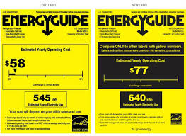 Dont Be Confused By The New EnergyGuide Label