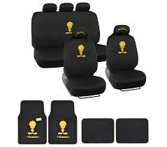 Chevrolet Cruze Floor Mats Uk by Tweety Bird Car Seat Covers Yellow On Black Logo W Matching