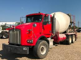 2007 Kenworth T800 Concrete Mixer Truck Used Mixer Trucks - Tandem