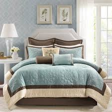 shop madison park juliana blue brown comforter sets the home