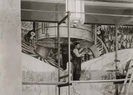 diego rivera s psychedelic rockefeller center mural was destroyed