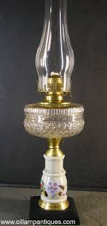 Oil Lamps Kerosene Stand Lamp Circa The Smoke From Olive Oil