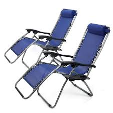 XtremepowerUS Zero Gravity Adjustable Reclining Chair Pool Patio Outdoor  Lounge Chairs W/ Cup Holder - Set Of Pair (Navy) Patio Fniture Accsories Zero Gravity Outdoor Folding Xtremepowerus Adjustable Recling Chair Pool Lounge Chairs W Cup Holder Set Of Pair Navy The 6 Best Levu Orbital Chairgray Recliner 4ever Heavy Duty Beach Wcanopy Sunshade Accessory Caravan Sports Infinity Grey X Details About 2 Yard Gray Top 10 Reviews Find Yours 20
