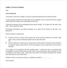 Sample demand letter for payment of debt basic quintessence more