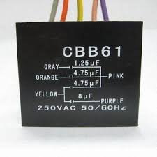 Cbb61 Ceiling Fan Capacitor 5 Wire by Polypropylene Film Lighting Capacitor Sh Cbb61 3 4 5 Wires With