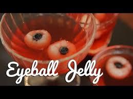 Halloween Eyeball Jello Molds by Edible Eyeball Jelly Crumbs Halloween Youtube
