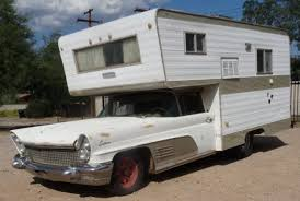 1960 Lincoln Continental Camper