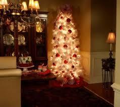 Qvc Christmas Tree Storage Bag by Bethlehem Lights 7 5 U0027 Flocked Tree W Ready Shape And 5 Year Lmw
