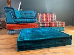 100 Missoni Sofa Le Mah Jong Roche Bobois Modular Square Cushion Set Teal Orange