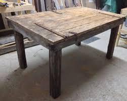 table en bois de cuisine awesome table de cuisine en bois de grange l81 in modern home