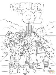 Return To Oz Coloring Page
