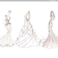 Behind The Seams Designer Wedding Dress Sketches