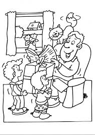 The Family On A Ride Adult Guy Coloring Pages To Print