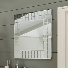 600 X 600 Mm Modern Bathroom Mosaic Square Designer Wall Mirror ... Superior Haing Bathroom Mirror Modern Mirrors Wood Framed Small Contemporary Standard For Bathrooms Qs Supplies High Quality Simple Low Price Good Design Mm Designer Spotlight Organic White 4600 Inexpensive Spectacular Ikea Home With Lights Creative Decoration For In India Ideas William Page Eclipse Delux Round Led Print Decor Art Frames