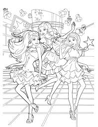 Charming Idea Barbie Coloring Pages Game 304 Best Baby Girls Color Pictures Images On Pinterest
