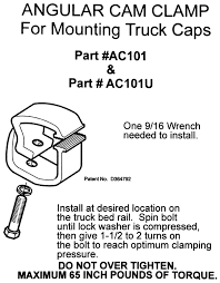 Amazon.com: API AC101 Mounting Clamps For Truck Caps / Camper Shells ... Atc Truck Covers Manufacturers Of High Quality American Made Bed Sleeping Platform Travel Vehicles Pinterest Home Mid America Utility Flatbed Trailers In St Louis Mo And Tonneaus Lids Caps Topper Advantages Custom Road Accsories Amazoncom Oem Chevy Center Cap 15004143 Suburban Tahoe Silverado Diamond Supply Co X Astro Boy Snapback White A Topper Sales Littleton Lakewood Co Api Ac101 Mounting Clamps For Camper Shells Cap Or Thule Xsporter Rack Tundratalknet Toyota Tundra
