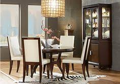 Sofia Vergara Dining Room Set by Picture Of Sofia Vergara Savona Cherry 5 Pc Rectangle Dining Room