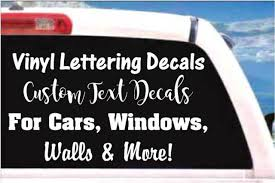 100 Custom Window Decals For Trucks Vinyl Lettering Car Stickers Decal