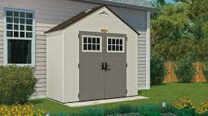 Suncast Horizontal Storage Shed Assembly by 206 Cu Ft Tremont 8 X 4 Storage Shed Suncast Corporation
