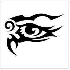 Tribal Tattoo Design Eye