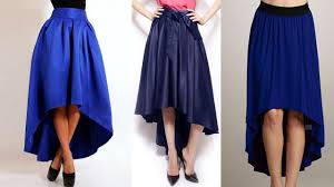 high low umbrella cut long skirt drafting cutting and stitching