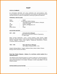 Sample Resume Experienced Lecturer Computer Science Valid Chemistry Professor English Teacher Objective
