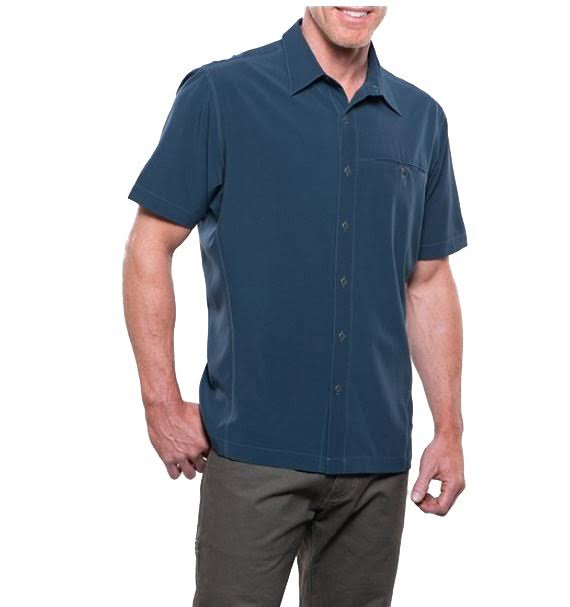Kuhl Men's Pirate Blue Renegade Shirt