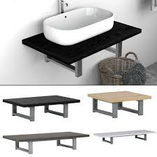 badezimmer bad wandregal schweberegal wandboard für