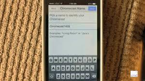 How to Setup ChromeCast with the ChromeCast App on an iPhone