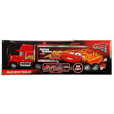 100 Lightning Mcqueen Truck Amazoncom Disney Pixar Mack Lighting McQueen 95 Piston Cup Trailer