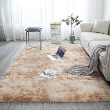 blivener plüschteppich tie dye allmählicher teppiche