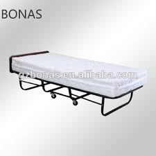 Hotel Extra Bed Folding Bed Roll Away Guest Bed Single Fold Up