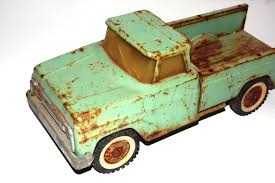 100 Antique Metal Toy Trucks Old