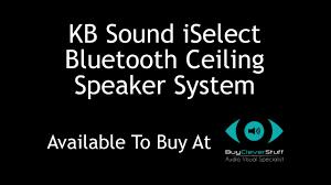 Sonos Ceiling Speakers Australia by Kb Sound Iselect Fm Dab Radio U0026 Bluetooth Ceiling Speaker System