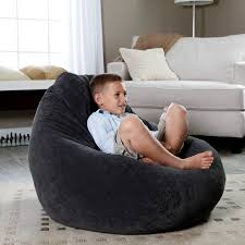 Cozy Black Bean Bag Chairs Ikea On Berber