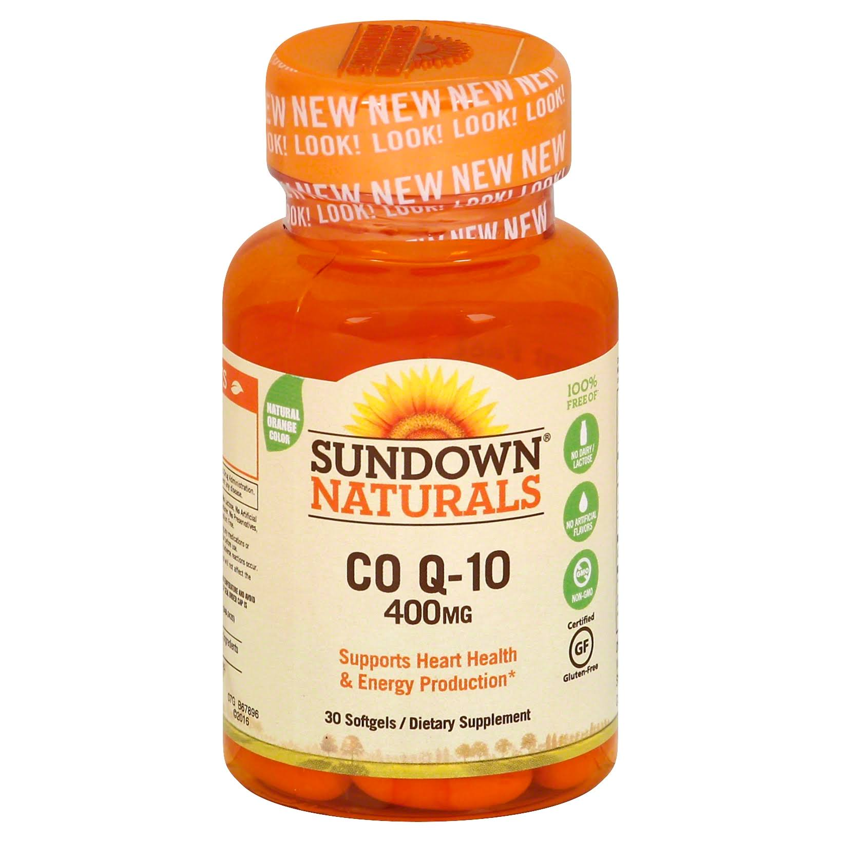 Sundown Naturals Co Q-10 400 mg Softgels