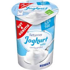 gut günstig fettarmer joghurt 1 5