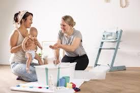 baby baden ab wann wie lange und womit mabyen baby
