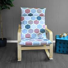 Teal, Blush Pink Hexagon Print Ikea Poang Chair Cover | IKEA ... Ikea Ektorp Armchair Chair Slipcover Cover Nordvalla Dark Gray New Sealed Pong Birch Veneer Hillared Beige Poang Poang Chair Covers Indoor Chairs And Ottoman Replacement Cushions Solid Teal Blue Suede Childs Jordansneakersco Ikea And Leather Fniture Tables Hexagon Blush Pink Turquoise Seat