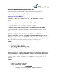 Andrés Zuazo Carta De Presentación Del Propio Negocio