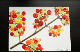 7 Easy Button Crafts For Kids