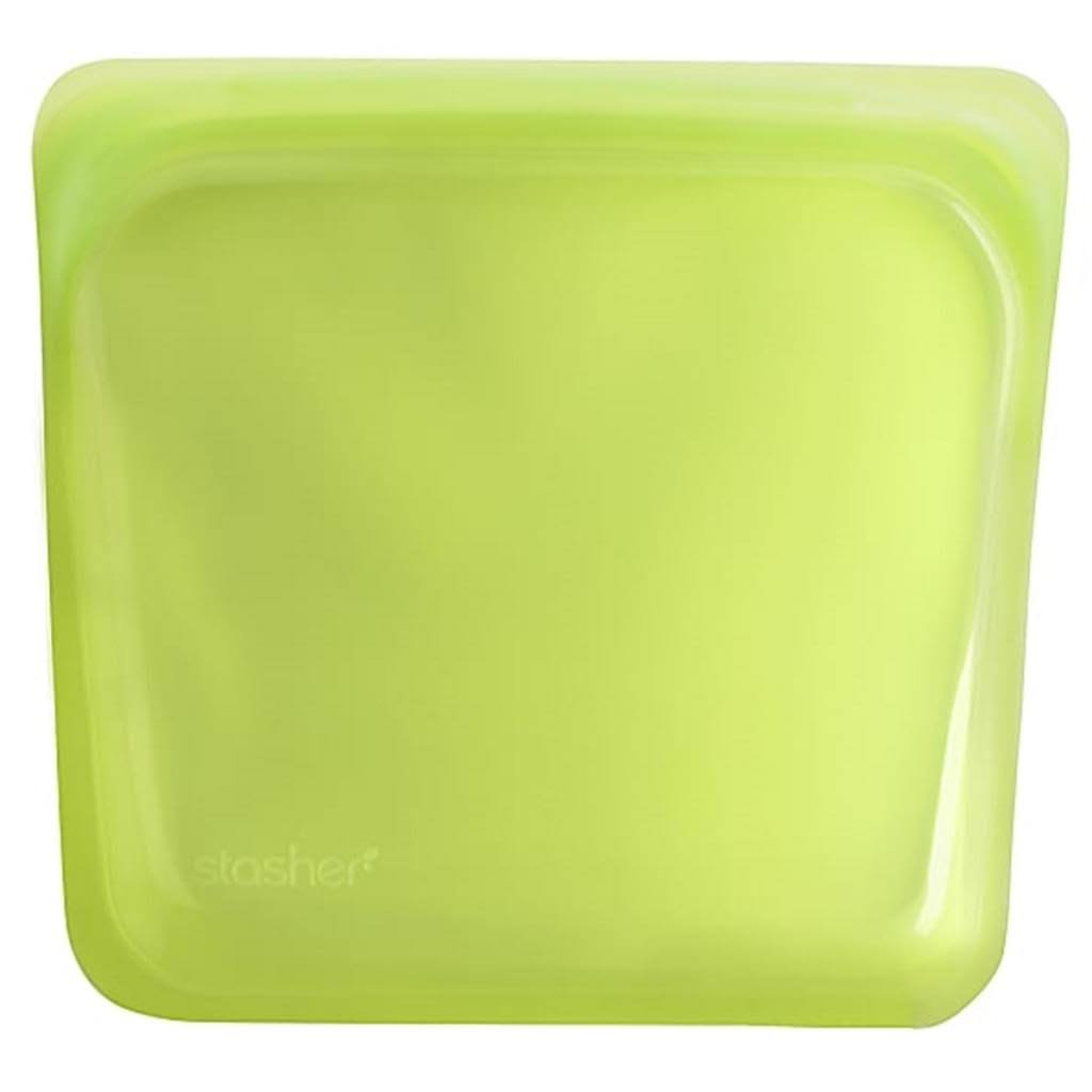 Stasher Sandwich Storage Bag - Lime
