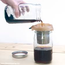 Recipe Mason Jar Cold Brew Coffee