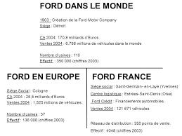 ford siege social ford aquitaine industries étudiant pascal latournerie ppt