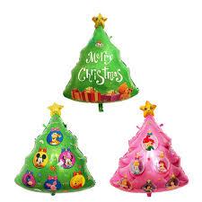 Christmas Tree Balloon Helium Inflatable Foil Party Decoration Air Balloons Santa Snow Man