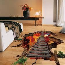 berg kabel brücke wand aufkleber home decor wohnzimmer schlafzimmer boden vinyl kinder aufkleber
