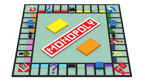 Monopoly Board Game With Pieces