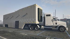 100 Gta 5 Trucks And Trailers Featherlite Executive Racing Trailer And Livery Menyoo GTAModscom