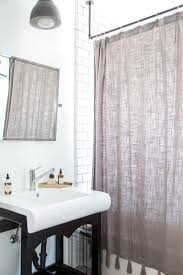 Bendable Curtain Rod For Oval Window by Fine Best Curtain Track Pictures Inspiration Bathtub Ideas